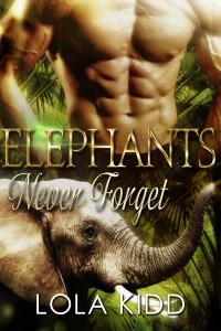 Elephants Never Forget AMAZON LARGE